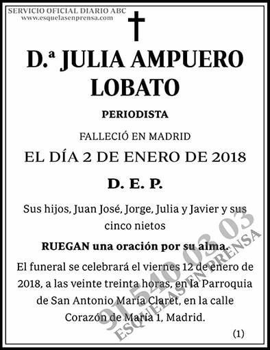 Julia Ampuero Lobato